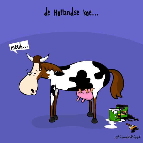 krewinkelkrijst nl    de hollandse koe